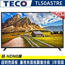 TECO東元 50吋 FHD 低藍光液晶顯示器+視訊盒 TL50A5TRE