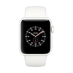 Apple Watch Edition(GPS+網路) 38mm白色陶瓷錶殼+柔白配石灰運