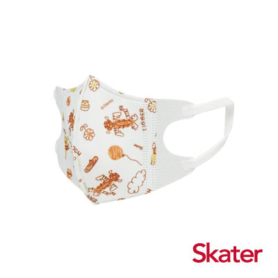 Skater幼兒立體口罩- 小熊維尼(5入/包)共6包