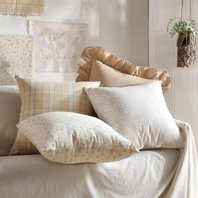 完美主義 溫暖花園45x45純棉靠枕套/韓國製/枕套/枕頭套/抱枕套(3色)