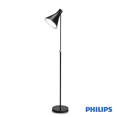 (福利品)飛利浦 PHILIPS LIGHTING 迪因落地燈-黑色(42261)