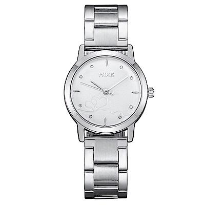Mirabelle 紅線情緣 點鑽不鏽鋼女錶 白面27mm
