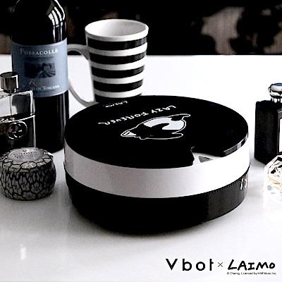 Vbot × 馬來貘聯名 i6+黑松露蛋糕掃地機器人 三代加強掃吸擦智慧鋰電