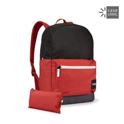 Case Logic-CAMPUS 24L筆電後背包CCAM-1116-黑/磚紅
