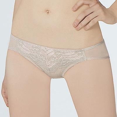 曼黛瑪璉 包覆提托經典 低腰三角內褲(灰棕膚)