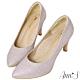 Ann'S睡美人-訂製晶鑽3D氣墊尖頭高跟鞋-粉 product thumbnail 1