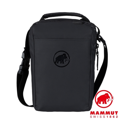 【Mammut 長毛象】Seon Pouch 休閒單肩包/側背包 2L 黑色 #2810-00151