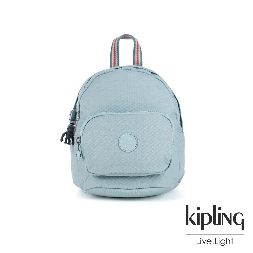 Kipling 清澈湖水藍輕巧迷你後背包-MINI BACKPACK