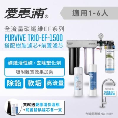 愛惠浦 壓力錶吊架型三道式淨水器 EVERPURE PURVIVE-TRIO EF1500