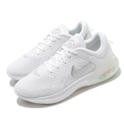 Nike 慢跑鞋 Joyride Dual Run 2 女鞋 輕量 透氣 舒適 避震 運動 路跑 白 銀 CT0311103