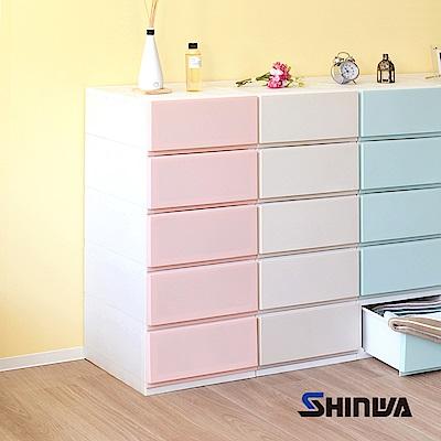 【nicegoods】日本伸和 35面寬五層抽屜收納櫃-DIY