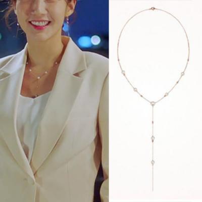 Hera 赫拉 韓款925銀韓劇她的私生活珍珠珠金項鍊
