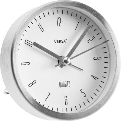 《VERSA》桌面鬧鐘(銀9cm)