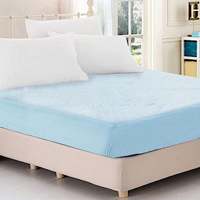 精靈工廠 看護級-天絲抑菌防蹣吸濕排汗舒柔布100%防水保潔枕套