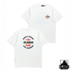XLARGE S/S TEE APPLE短袖T恤-白