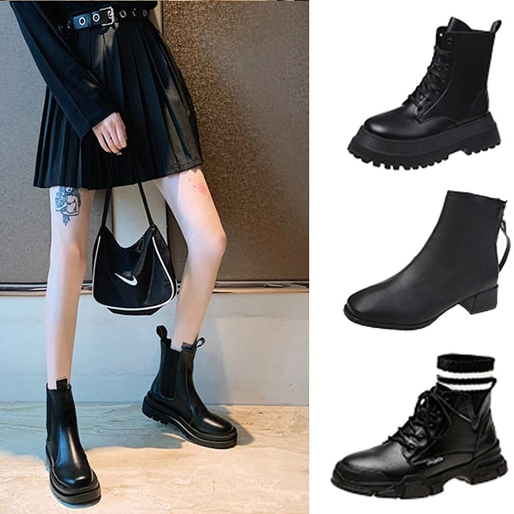 韓國KW美鞋館-獨家下殺-韓國爆款靴款系列(共10款可選)