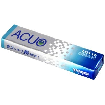 Lotte ACUO薄荷風味口香糖[藍](20g)
