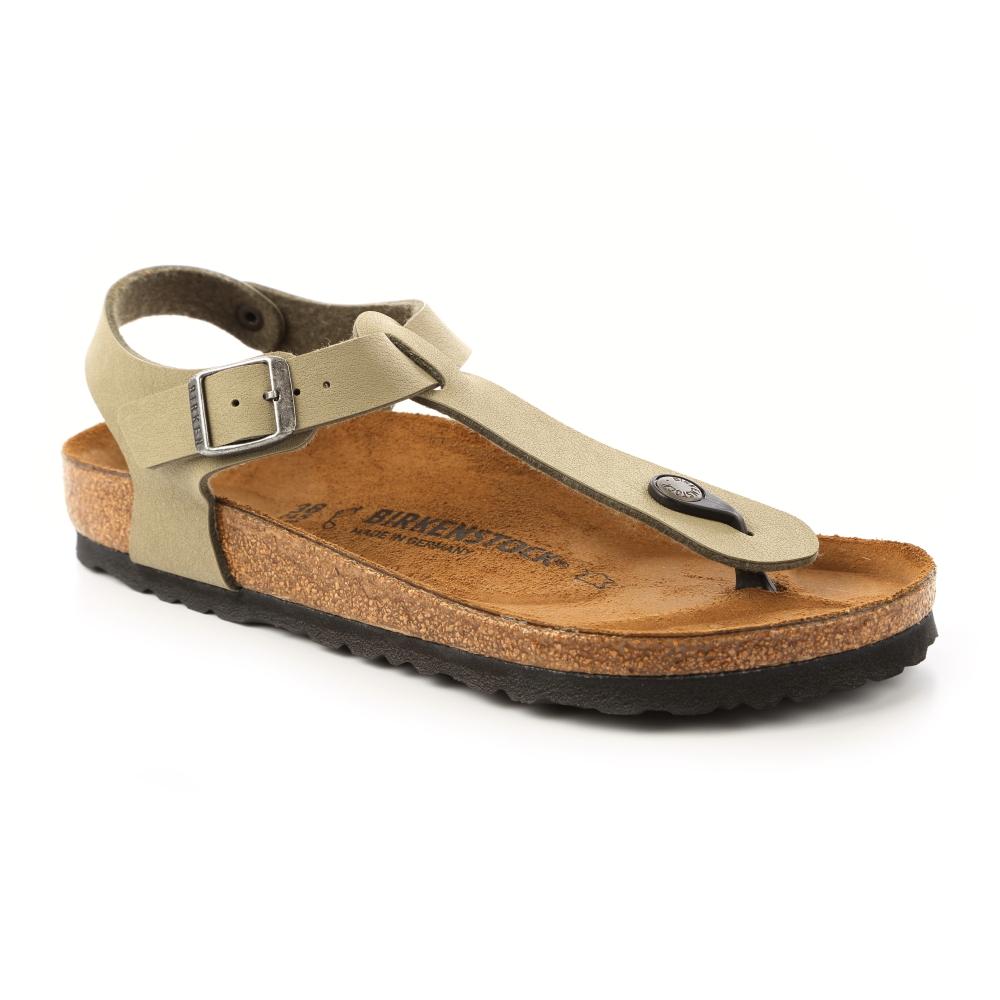 勃肯BIRKENSTOCK 047211。KAIRO開羅 夾腳涼鞋(卡其)