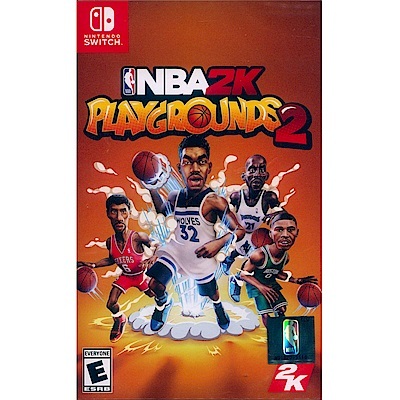 NBA 2K 熱血街球場 2 Playgrounds 2- NS Switch 中英文美版
