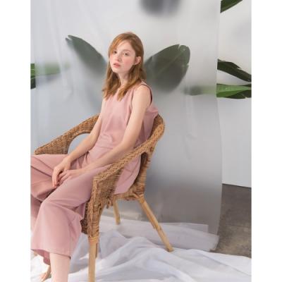 Shester55-柔和色調無袖套裝(兩色)-女【TSH102】
