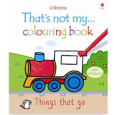 That s Not My... Colouring Book 著色書-交通工具篇