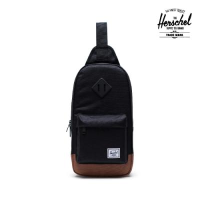 【Herschel】Heritage 單肩包-黑色