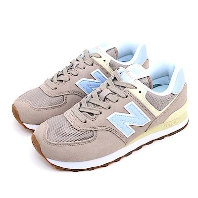 New-Balance 女休閒鞋 WL574FLC-B 灰
