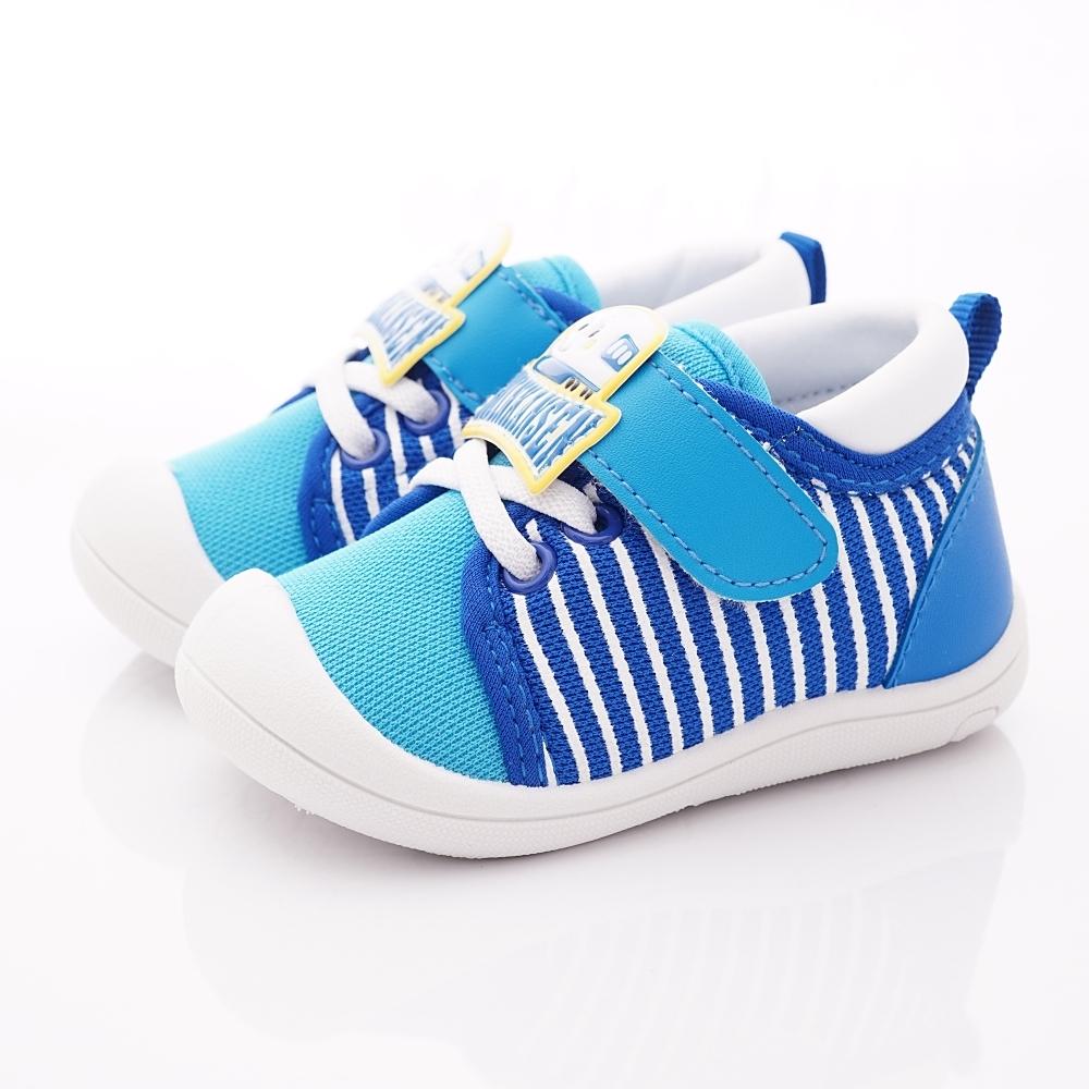 新幹線童鞋 輕量護趾學步鞋款 SE19830藍(寶寶段)