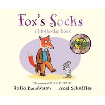 Tales From Acorn Wood:Fox s Socks 老狐狸的襪子硬頁翻翻書