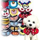 dyy》寵物手工編織配飾三角巾 領巾