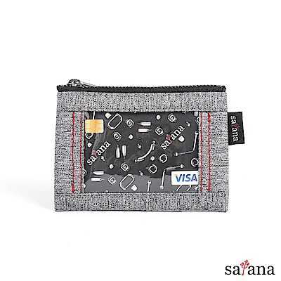 satana - Fresh 輕職人閃靈證件包 - 麻花灰