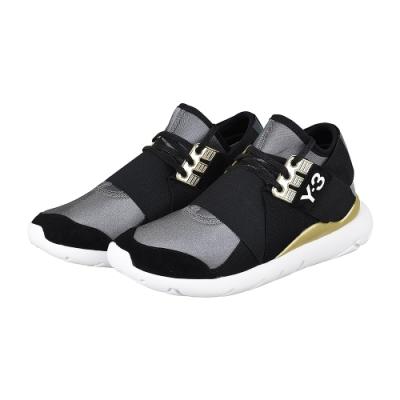 adidas Y-3 QASA ELLE LACE 武士忍者鞋(黑金)