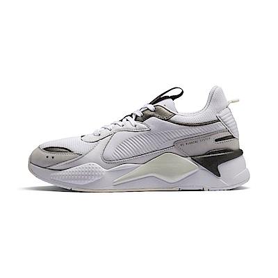 PUMA-RS-X TROPHY 男女復古慢跑運動鞋-白色