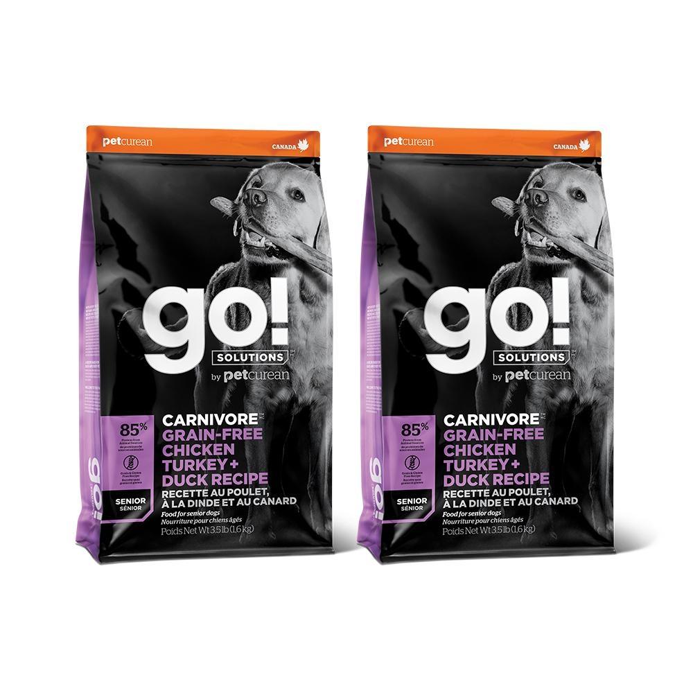Go! 雞肉鮭魚 85% 高肉量 3.5磅 兩件優惠組 老犬配方