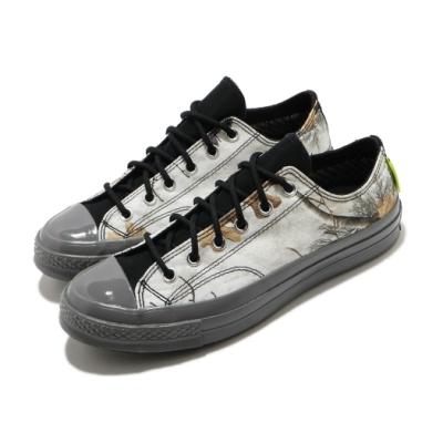 Converse 休閒鞋 All Star GTX Low 男女鞋 基本款 簡約 三星黑標 防潑水 情侶款 白 灰 169366C
