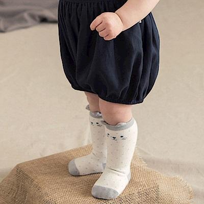 韓國 Happy Prince 點點動物臉耳朵嬰兒長襪