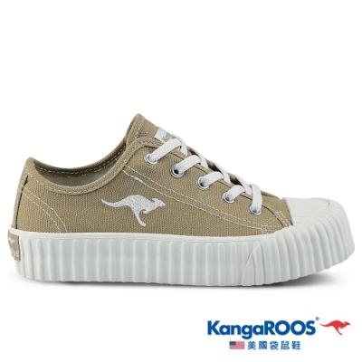 KangaROOS 美國袋鼠鞋 童鞋 CRUST 甜點手工餅乾鞋/休閒鞋(卡其-KK11381)