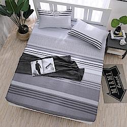DESMOND岱思夢 單人 天絲床包枕套二件組(3M專利吸濕排汗技術) 絲慕
