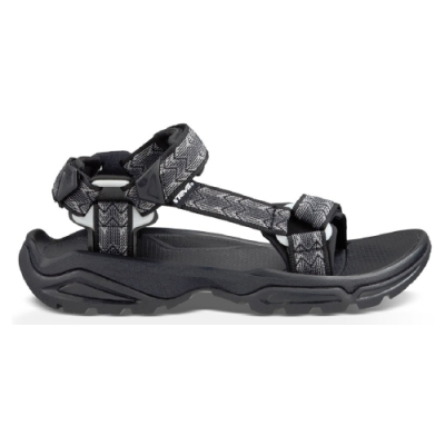 TEVA Terra Fi 4 男 水陸機能涼鞋 菱格灰