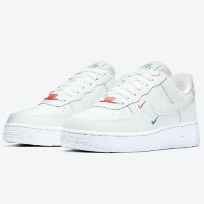 Nike 休閒鞋  AF1 皮革 小勾 運動鞋 女鞋 白 CT1989-101 W Air Force 1 07