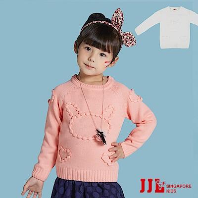 (宅配)JJLKIDS 立體小兔毛衣(2色)