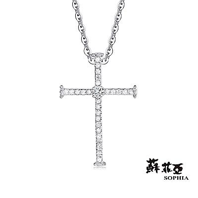 蘇菲亞SOPHIA 鑽鍊 - MY FAITH系列堅定之刃鑽石項鍊