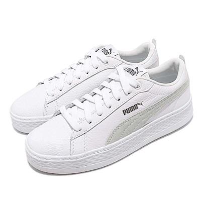 Puma 休閒鞋 Smash Platform L 復古 女鞋