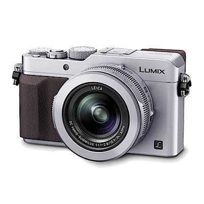 Panasonic Lumix DMC-LX100 4K拍片類單眼相機-銀色*(中文平輸)