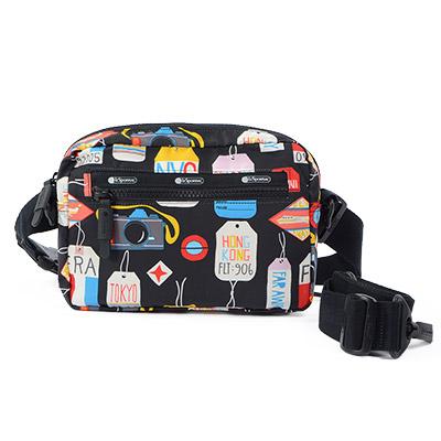 Lesportsac 多功能旅行側背包/收納包 環遊世界