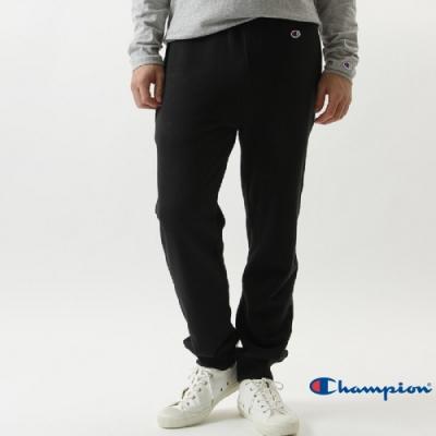 Champion Basic Slim Fit 縮口運動休閒棉褲 黑色