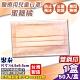 聚泰 聚隆 兒童醫療口罩(蜜糖橘)-50入/盒 product thumbnail 1
