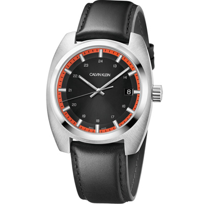 Calvin Klein Achieve 自信美學時尚腕錶(K8W311C1)