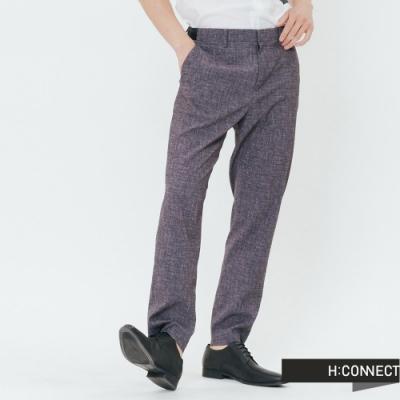H:CONNECT 韓國品牌 男裝-側鬆緊都會西裝褲-灰