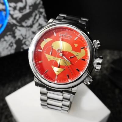 INVICTA 英威塔 DC正義聯盟限定版 (超人)-計時碼錶